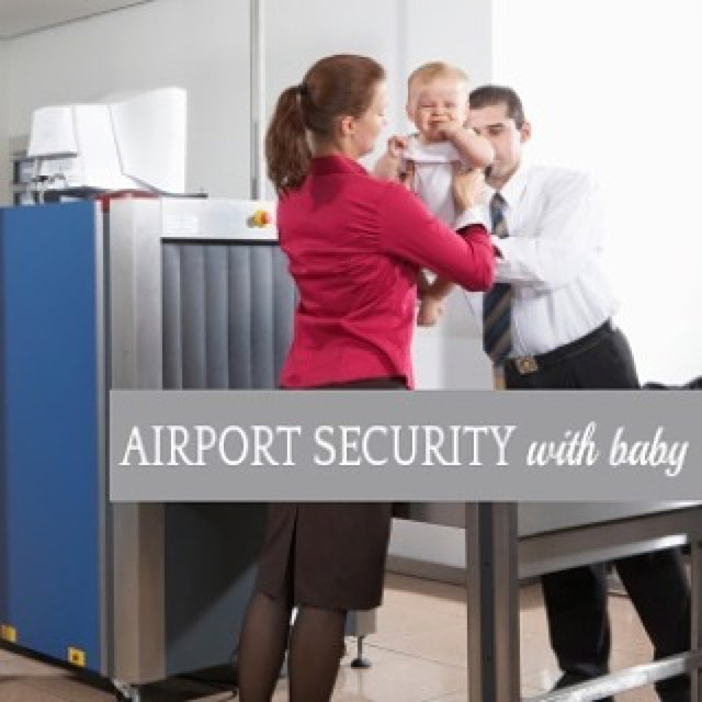 travel by air with baby